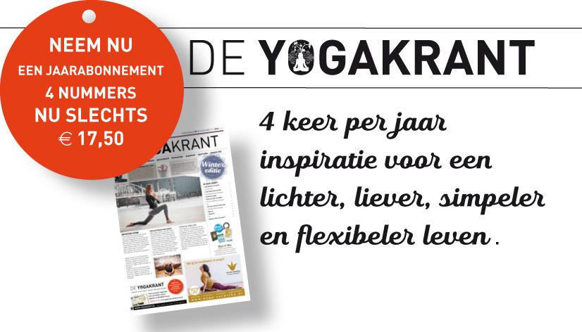 Yogakrant - Neem een abonnement